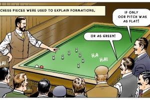 Billiard football.