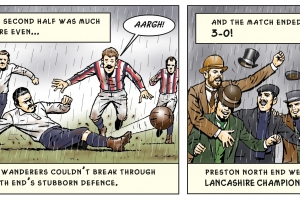Lancashire Cup Final 1887