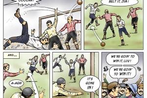 1889 FA Cup Final. PNE v. Wolves