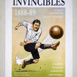 Art Print – The Invincibles (unframed)