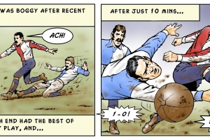 North End v. Rovers, 1884.
